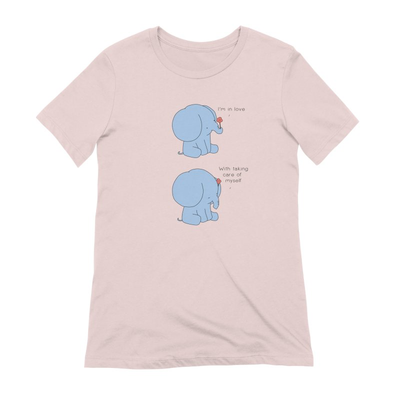 In Love with Myself Women's Extra Soft T-Shirt by Jangandfox's Artist Shop