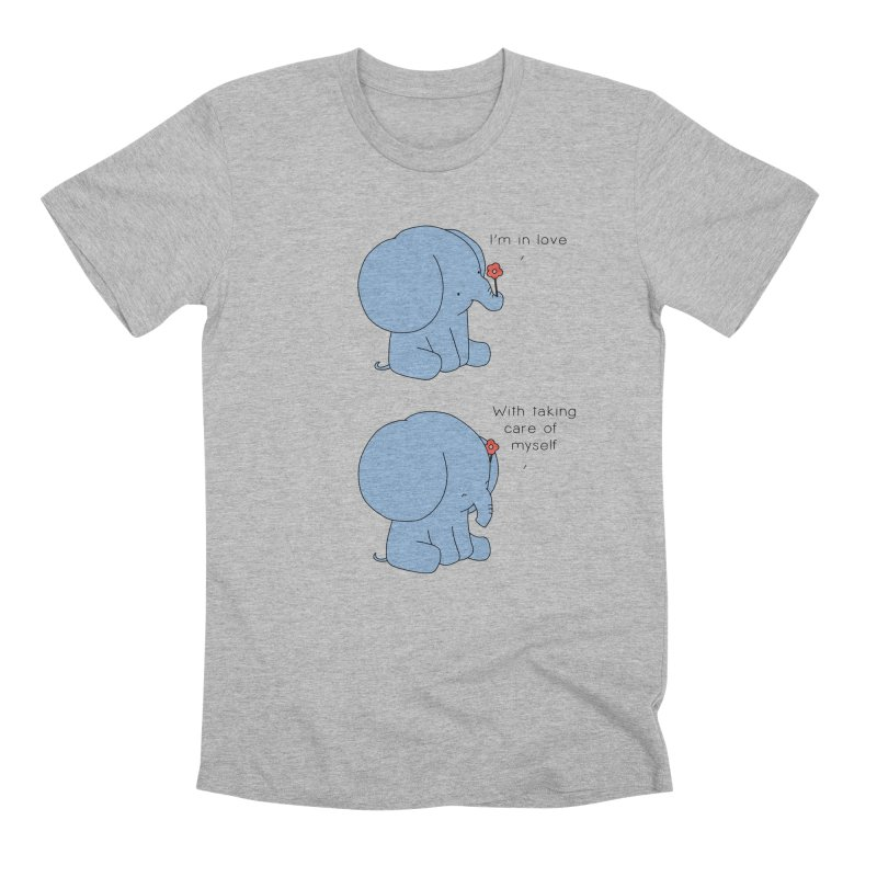In Love with Myself Men's T-Shirt by Jangandfox's Artist Shop