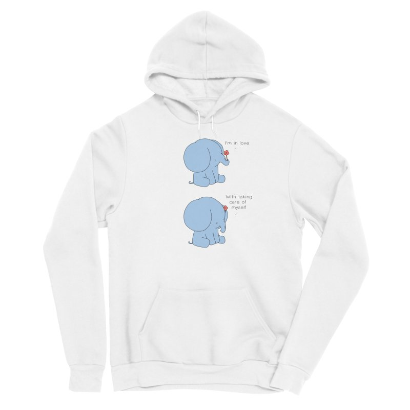 In Love with Myself Men's Pullover Hoody by Jangandfox's Artist Shop