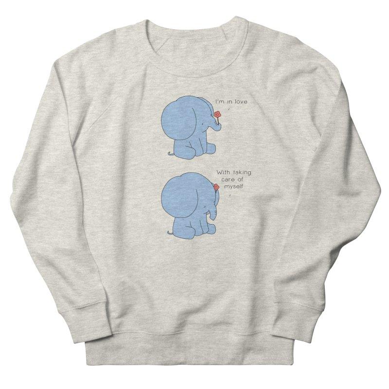 In Love with Myself Men's Sweatshirt by Jangandfox's Artist Shop
