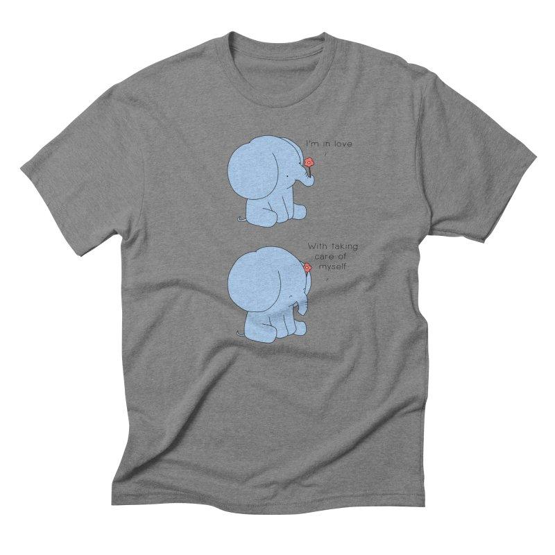 In Love with Myself Men's T-Shirt by Jangandfox x Threadless Artist Shop