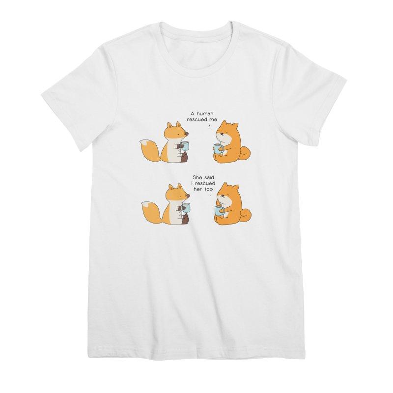 Rescued Women's T-Shirt by Jangandfox's Artist Shop