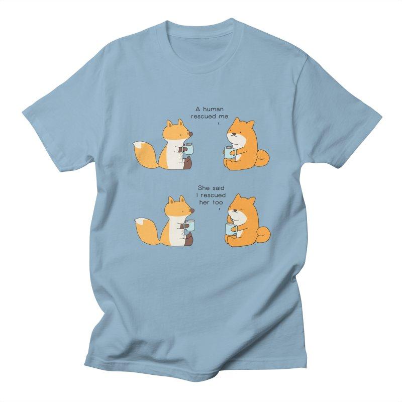 Rescued Women's Regular Unisex T-Shirt by Jangandfox's Artist Shop