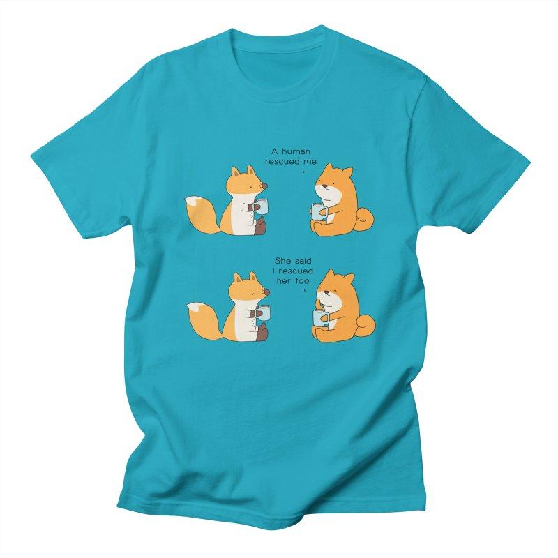 Rescued Men's T-Shirt by Jangandfox's Artist Shop