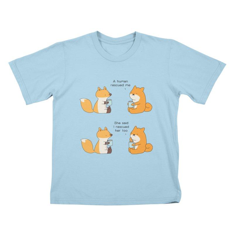 Rescued Kids T-Shirt by Jangandfox's Artist Shop