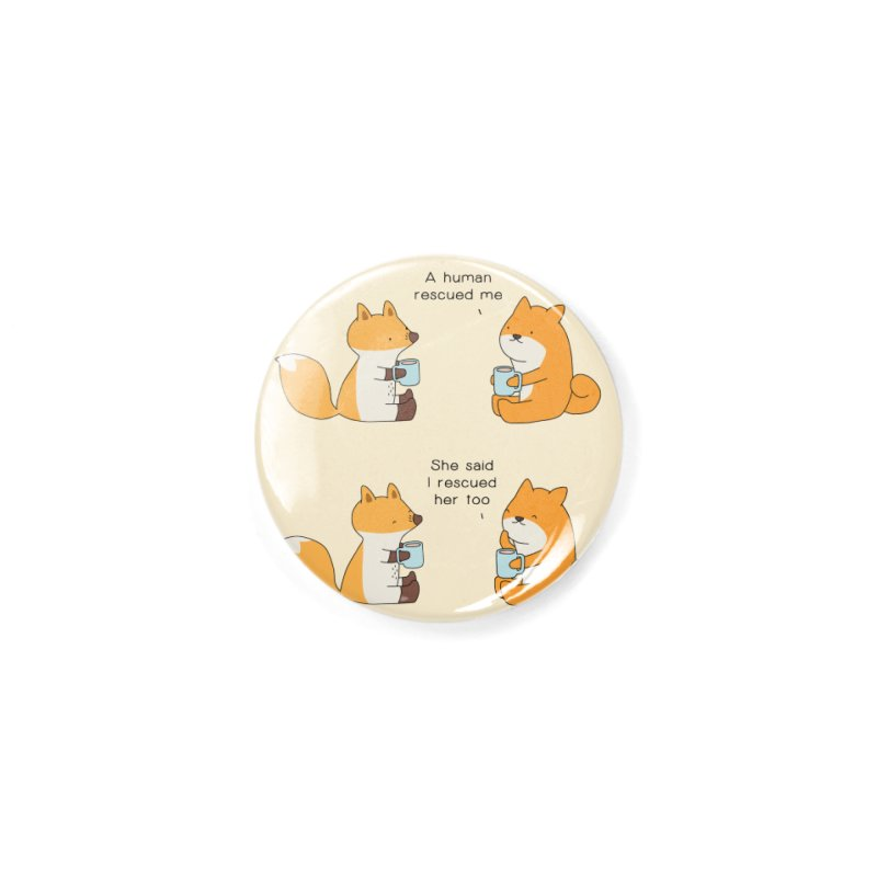 Rescued Accessories Button by Jangandfox's Artist Shop