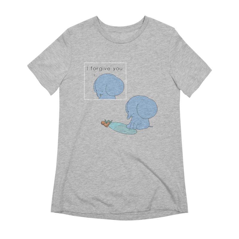 Forgive Women's Extra Soft T-Shirt by Jangandfox's Artist Shop