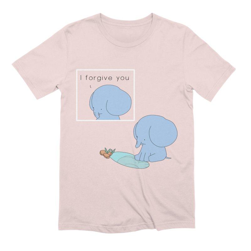 Forgive Men's Extra Soft T-Shirt by Jangandfox's Artist Shop