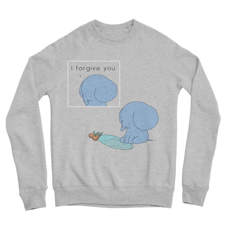 Forgive Men's Sponge Fleece Sweatshirt by Jangandfox's Artist Shop