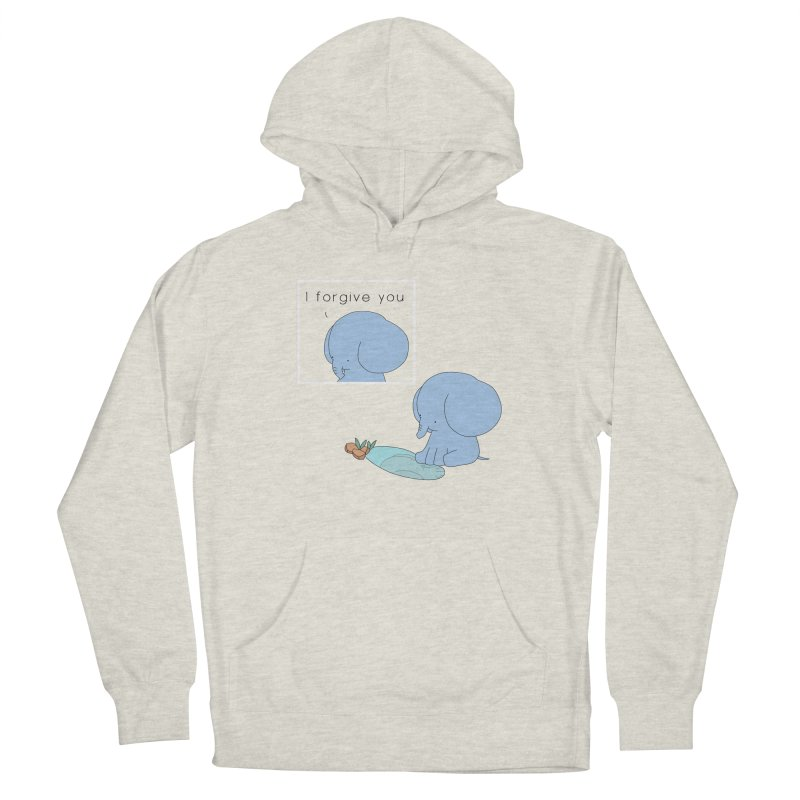 Forgive Women's French Terry Pullover Hoody by Jangandfox's Artist Shop