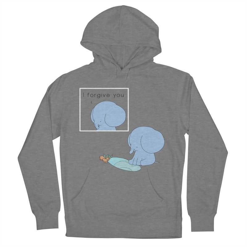 Forgive Men's French Terry Pullover Hoody by Jangandfox's Artist Shop