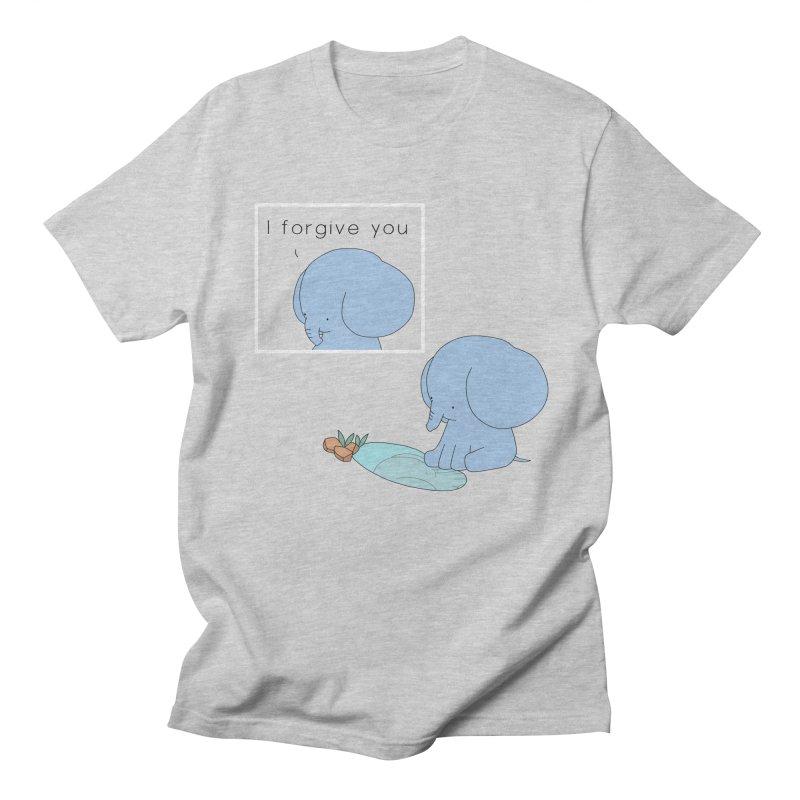 Forgive Men's Regular T-Shirt by Jangandfox's Artist Shop