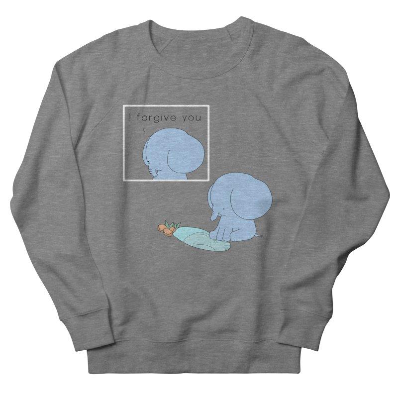 Forgive Women's French Terry Sweatshirt by Jangandfox's Artist Shop
