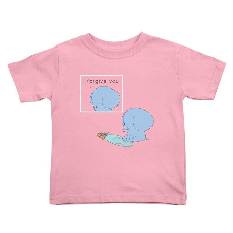 Forgive Kids Toddler T-Shirt by Jangandfox's Artist Shop