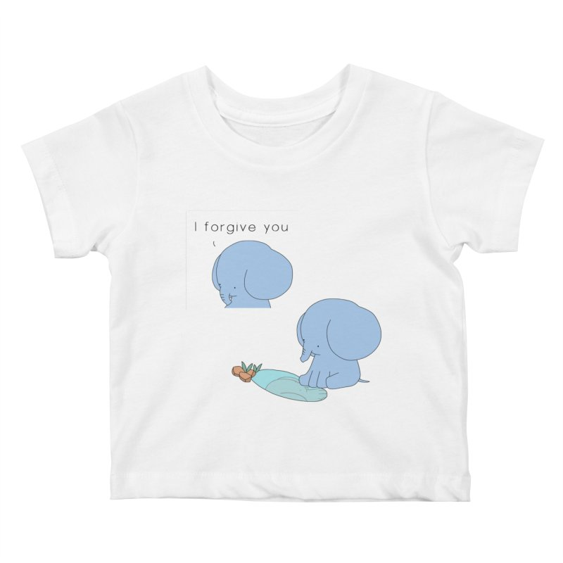 Forgive Kids Baby T-Shirt by Jangandfox's Artist Shop