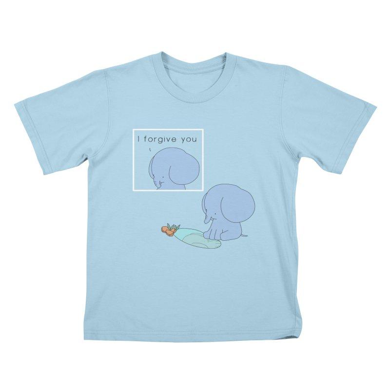 Forgive Kids T-Shirt by Jangandfox's Artist Shop