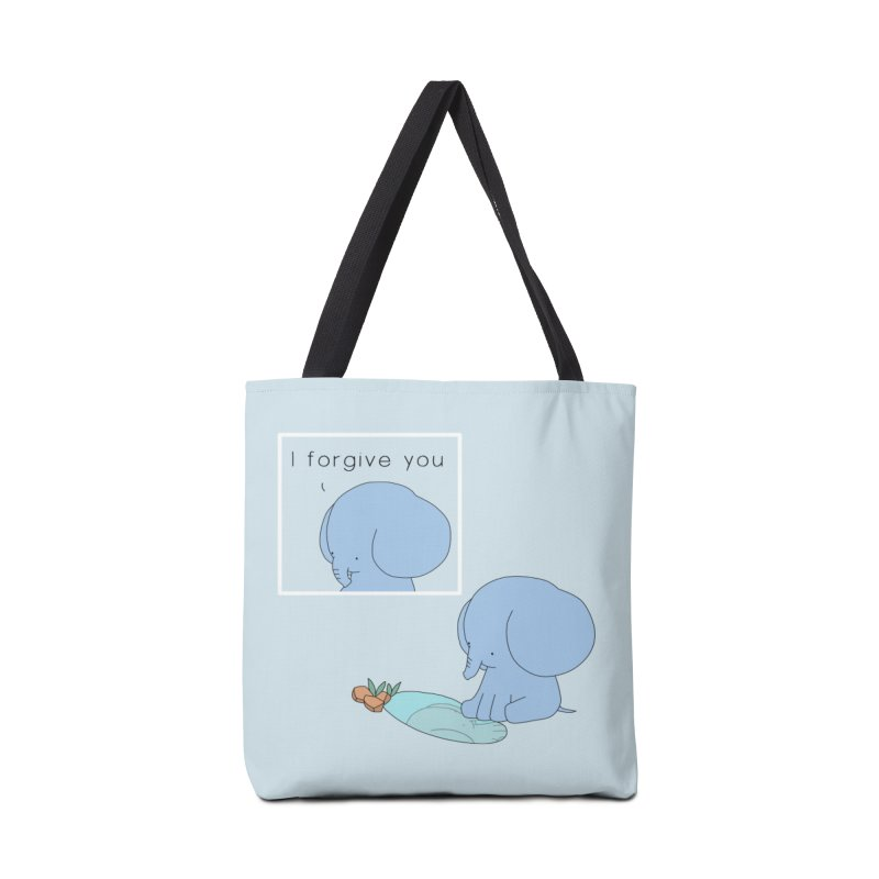 Forgive Accessories Tote Bag Bag by Jangandfox's Artist Shop