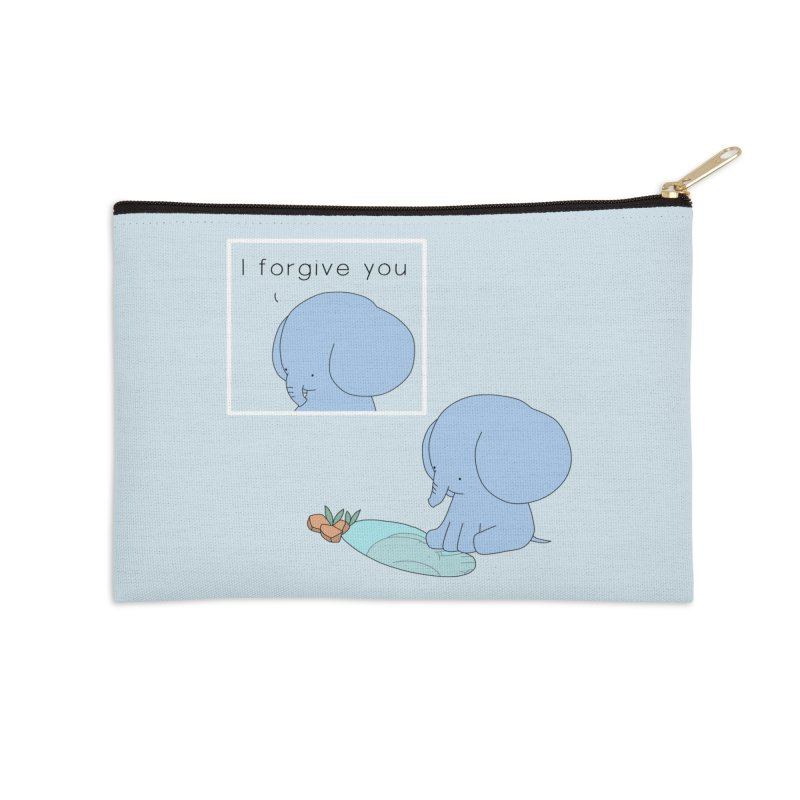 Forgive Accessories Zip Pouch by Jangandfox's Artist Shop