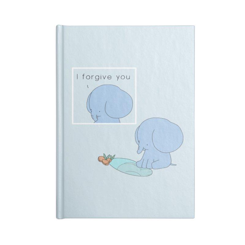 Forgive Accessories Blank Journal Notebook by Jangandfox's Artist Shop
