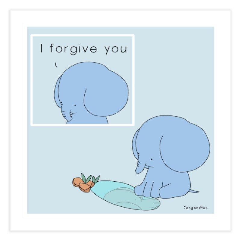 Forgive Home Fine Art Print by Jangandfox's Artist Shop