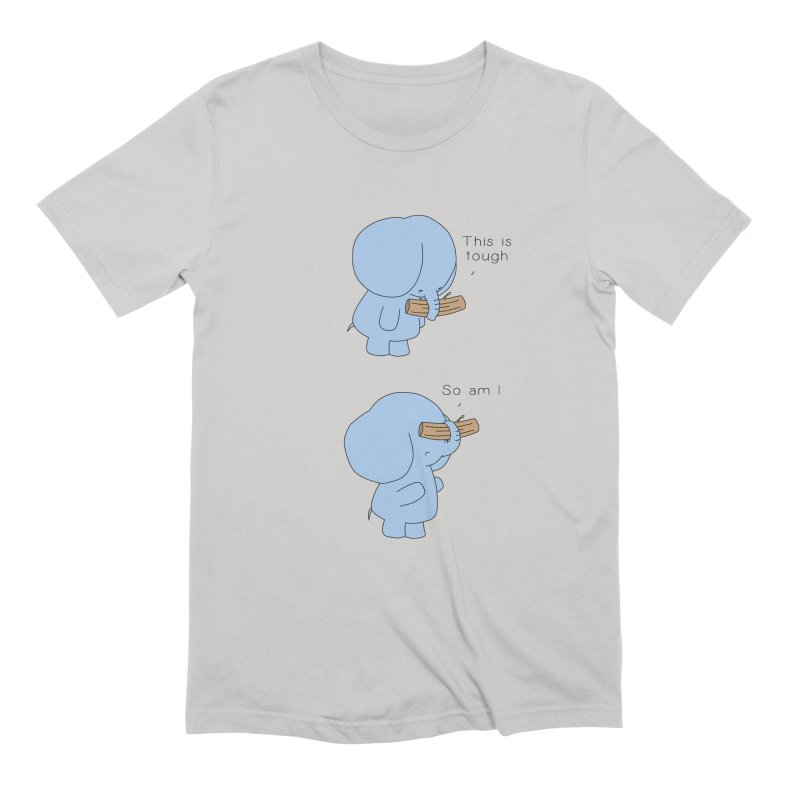 Tough Men's T-Shirt by Jangandfox's Artist Shop