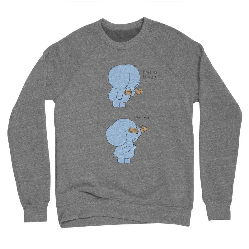 Tough Women's Sweatshirt by Jangandfox's Artist Shop