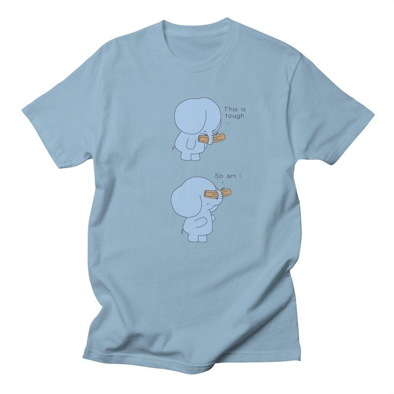 Tough Women's Regular Unisex T-Shirt by Jangandfox's Artist Shop