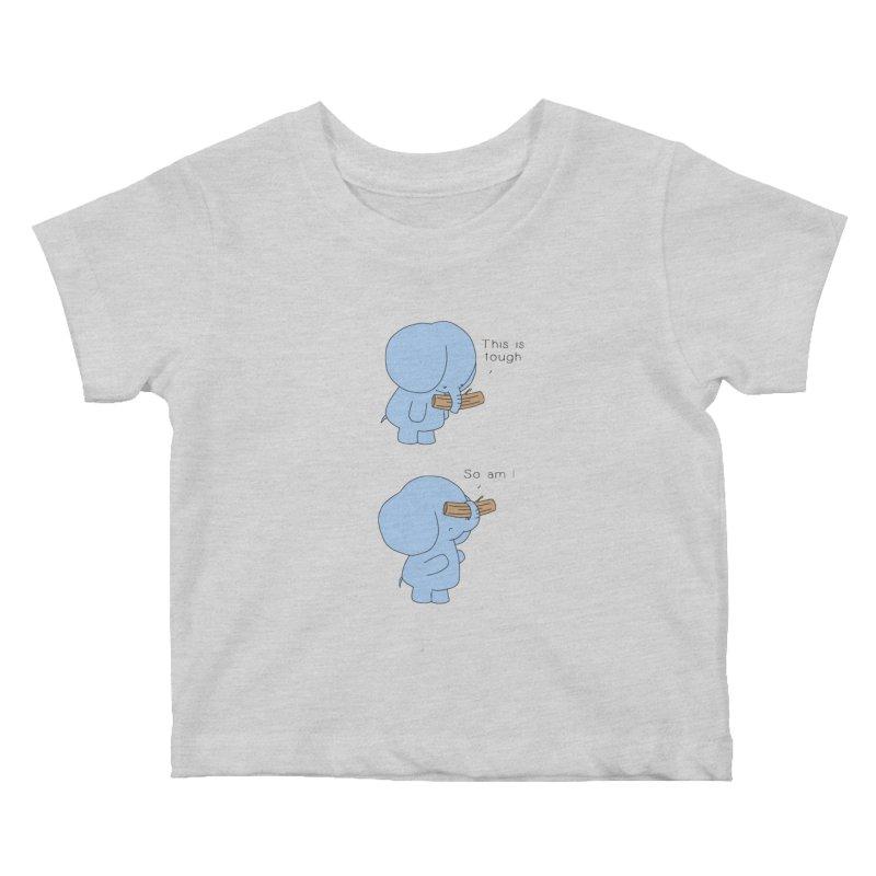 Tough Kids Baby T-Shirt by Jangandfox's Artist Shop