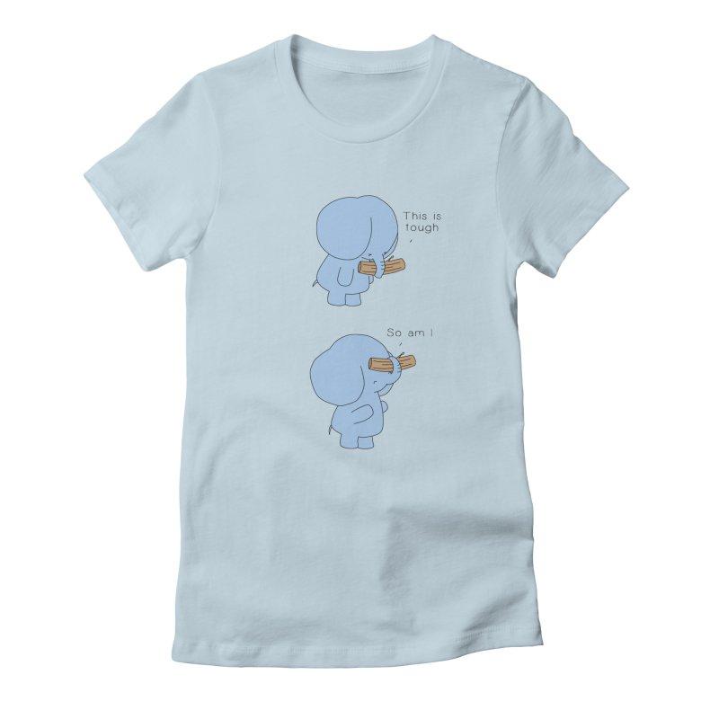 Tough Women's T-Shirt by Jangandfox x Threadless Artist Shop