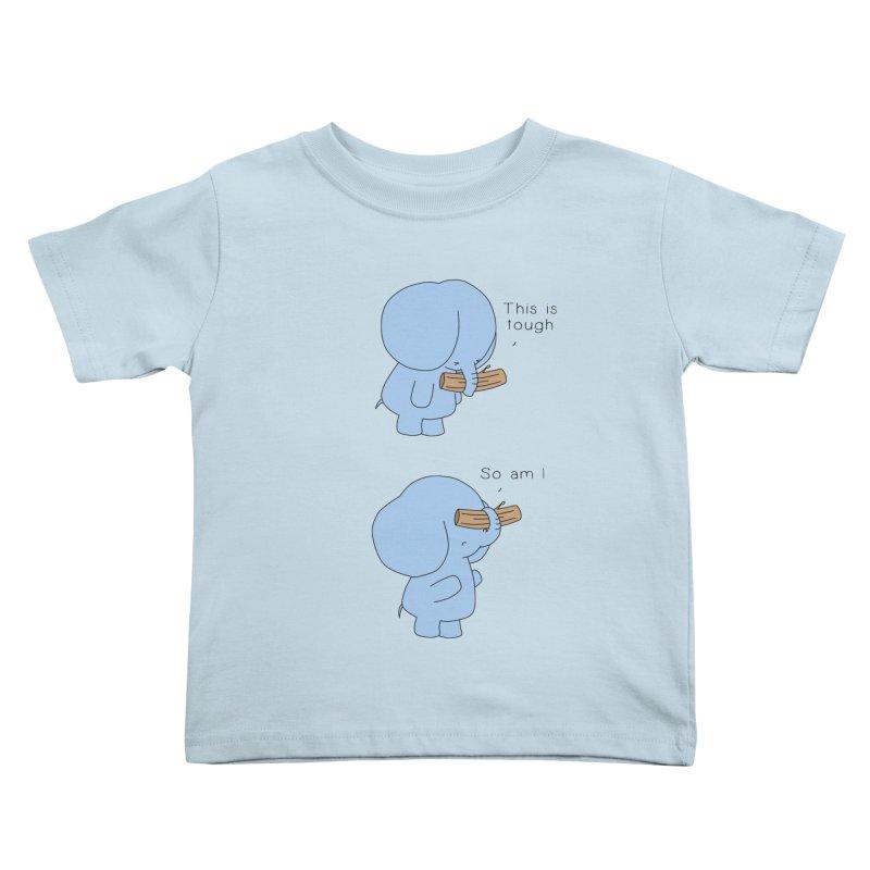 Tough Kids Toddler T-Shirt by Jangandfox's Artist Shop