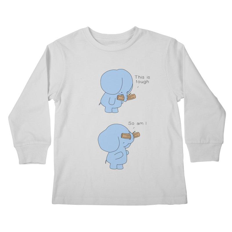 Tough Kids Longsleeve T-Shirt by Jangandfox's Artist Shop