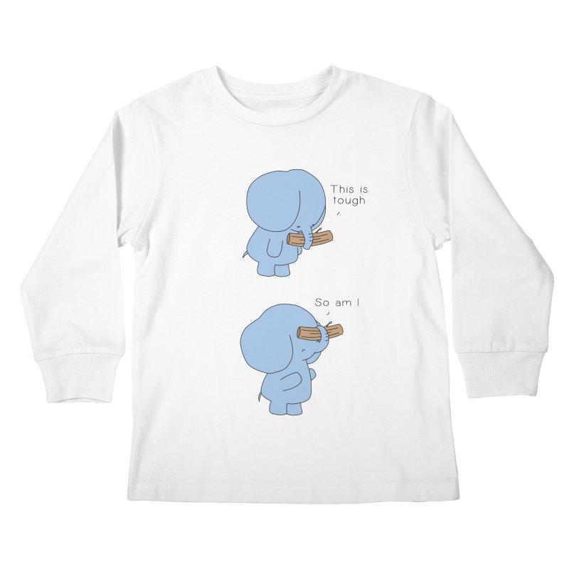 Tough Kids Longsleeve T-Shirt by Jangandfox x Threadless Artist Shop