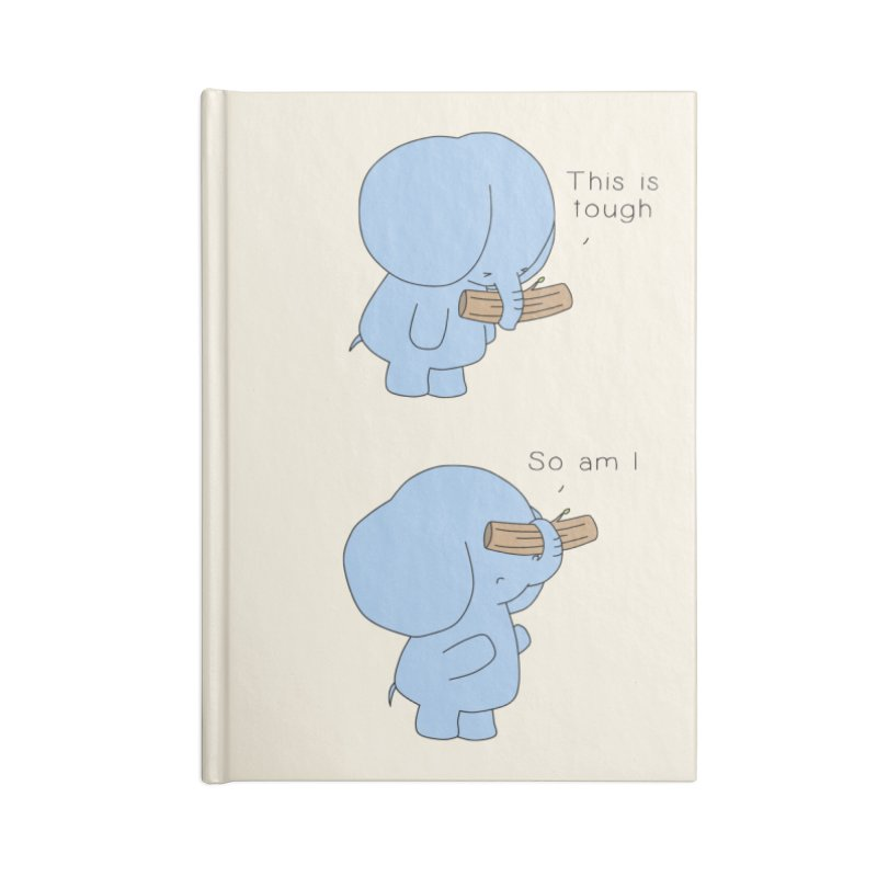Tough Accessories Notebook by Jangandfox's Artist Shop