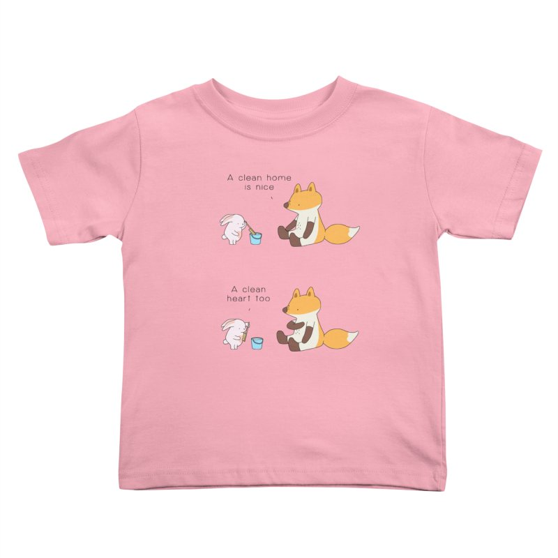 Keep it in the right place Kids Toddler T-Shirt by Jangandfox's Artist Shop
