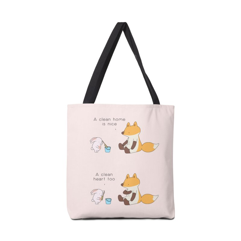 Keep it in the right place Accessories Tote Bag Bag by Jangandfox's Artist Shop