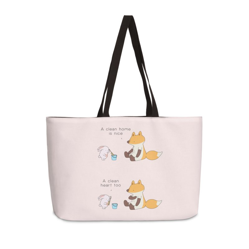 Keep it in the right place Accessories Weekender Bag Bag by Jangandfox's Artist Shop