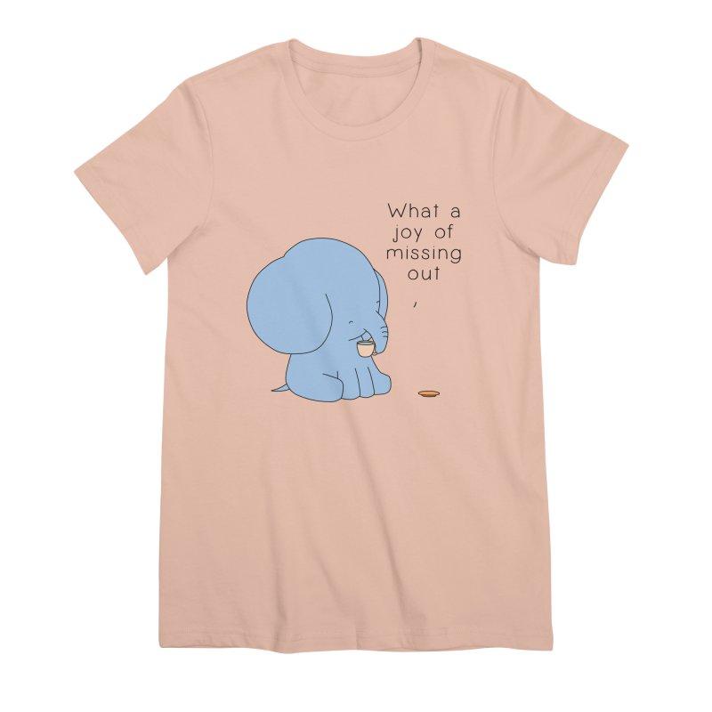 Joy of Missing Out Women's Premium T-Shirt by Jangandfox's Artist Shop