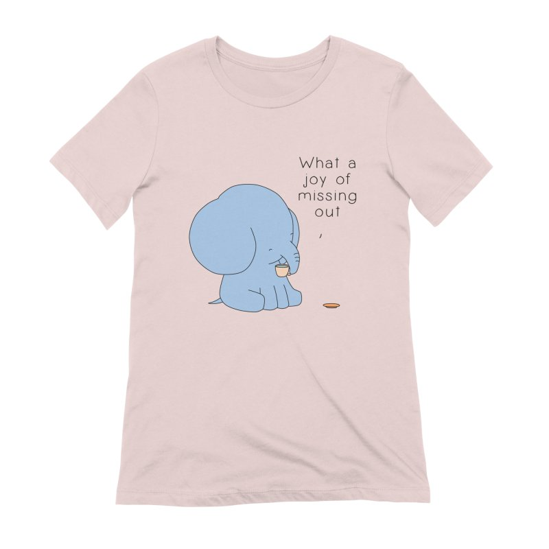 Joy of Missing Out Women's Extra Soft T-Shirt by Jangandfox's Artist Shop