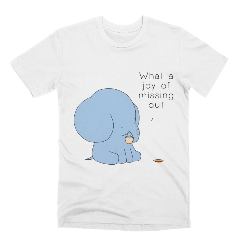 Joy of Missing Out Men's Premium T-Shirt by Jangandfox's Artist Shop