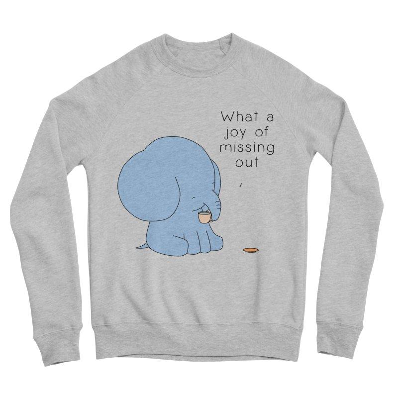 Joy of Missing Out Men's Sponge Fleece Sweatshirt by Jangandfox's Artist Shop