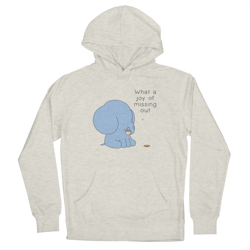 Joy of Missing Out Women's French Terry Pullover Hoody by Jangandfox's Artist Shop