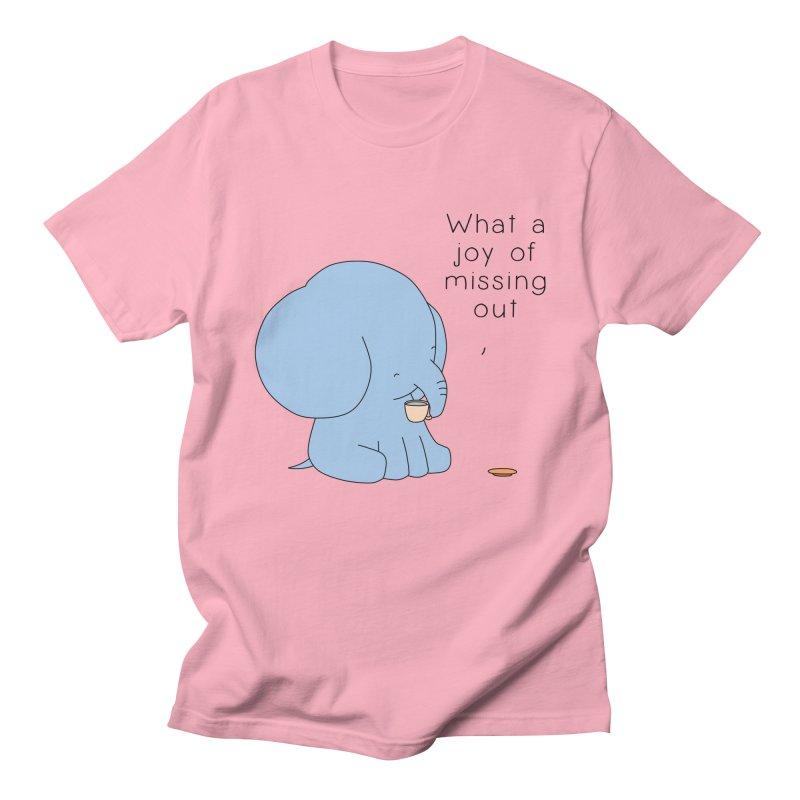 Joy of Missing Out Men's Regular T-Shirt by Jangandfox's Artist Shop