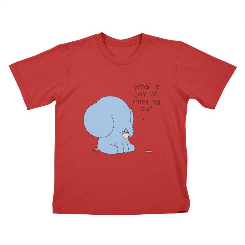Joy of Missing Out Kids T-Shirt by Jangandfox's Artist Shop