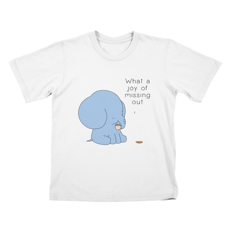 Joy of Missing Out Kids T-Shirt by Jangandfox's Artist Shop