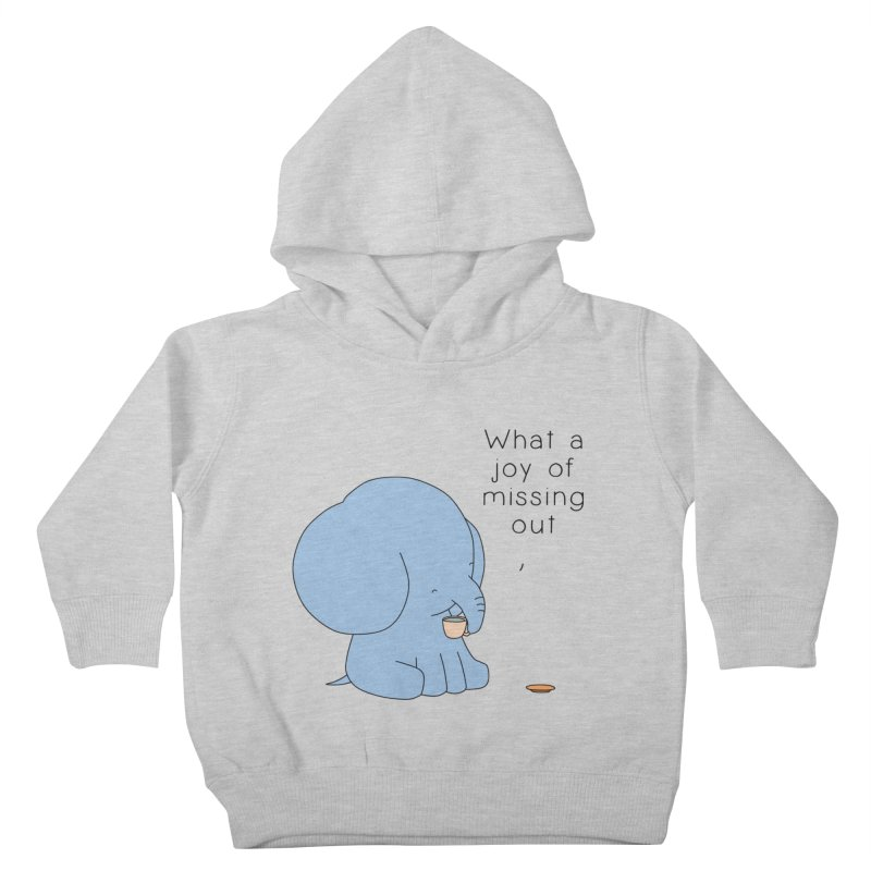 Joy of Missing Out Kids Toddler Pullover Hoody by Jangandfox's Artist Shop