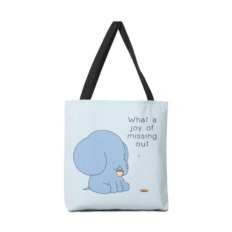 Joy of Missing Out Accessories Tote Bag Bag by Jangandfox's Artist Shop