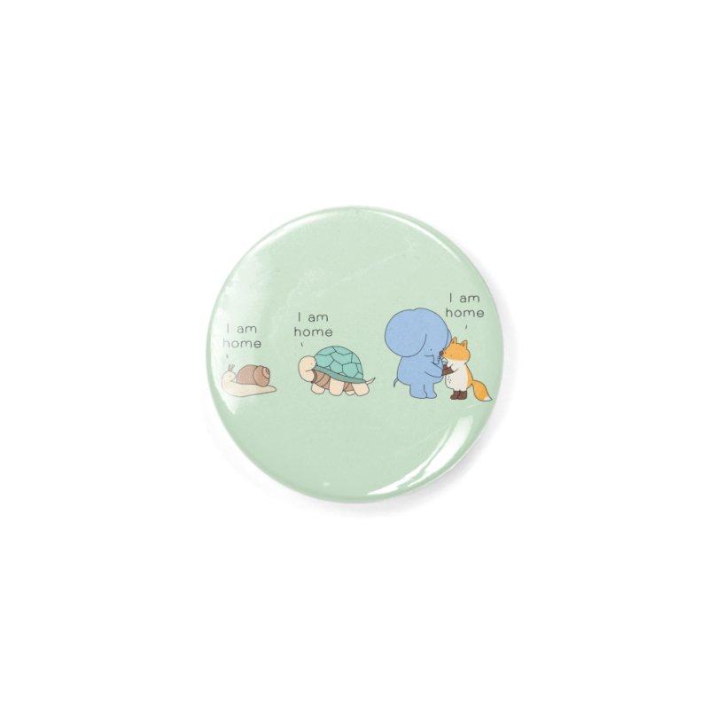 I am Home Accessories Button by Jangandfox's Artist Shop