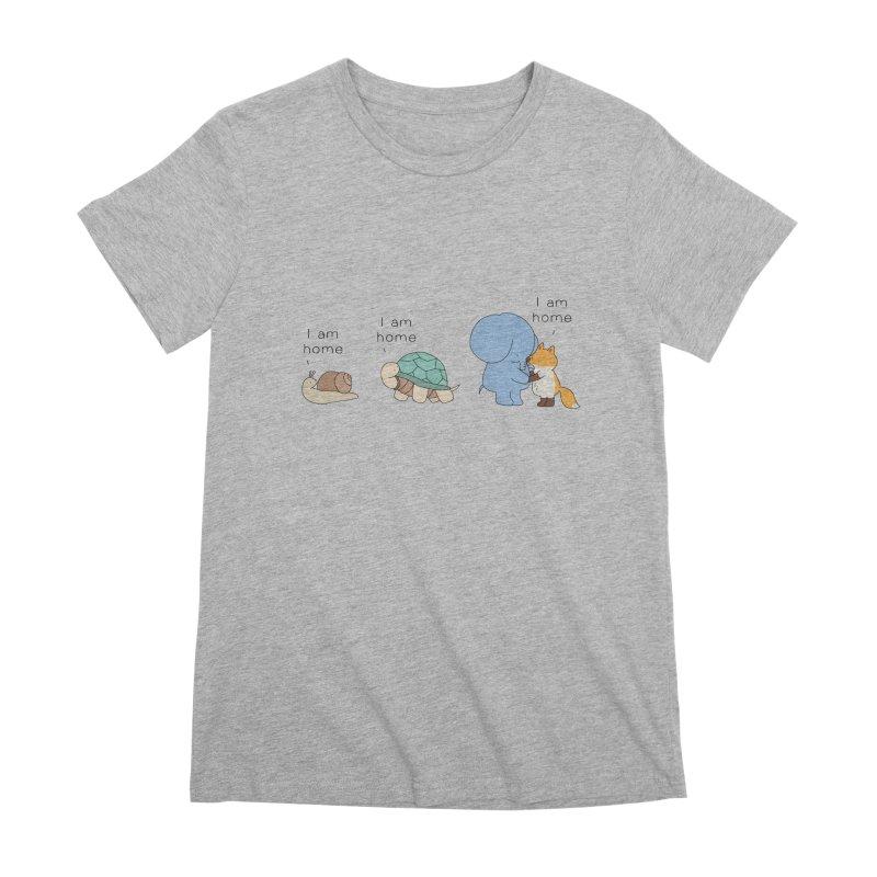 I am Home Women's Premium T-Shirt by Jangandfox's Artist Shop