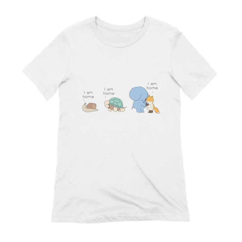 I am Home Women's Extra Soft T-Shirt by Jangandfox's Artist Shop