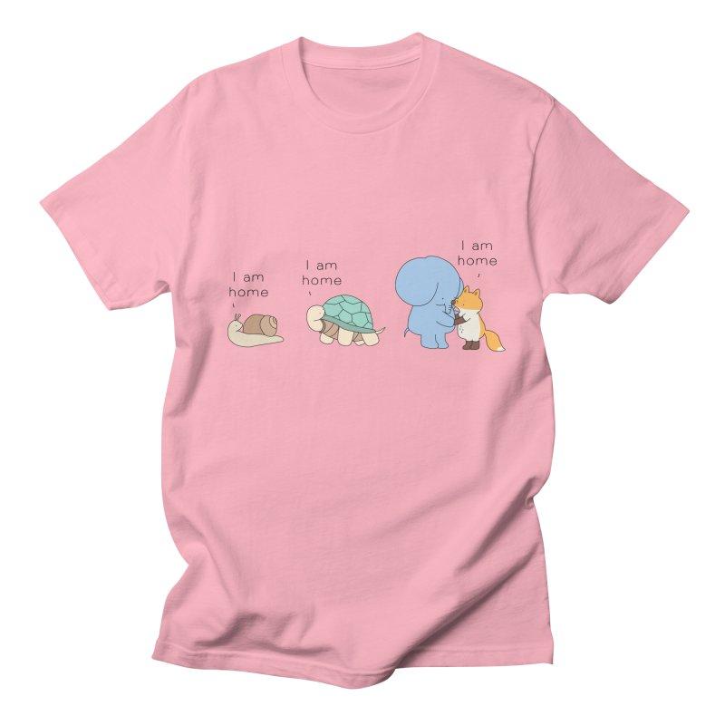 I am Home Women's Regular Unisex T-Shirt by Jangandfox's Artist Shop